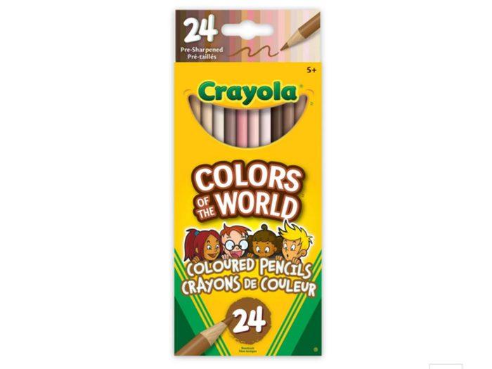 Les crayons de couleurs Colors of the world font partie de nos trouvailles pratiques et utiles à adopter pour la rentrée scolaire.