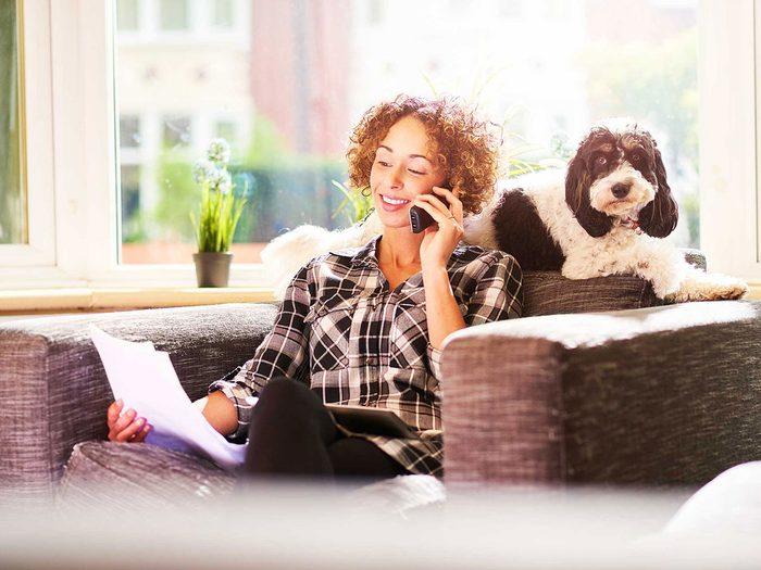 Entretien de la maison: revoyez votre police d'assurance habitation.