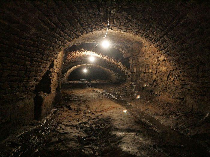 L'histoire des tunnels de Puebla fait partie des légendes urbaines qui se sont avérées être vraies.