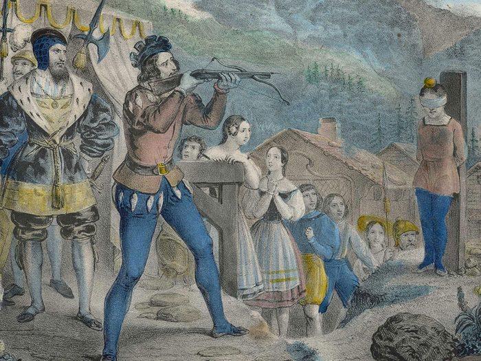 Guillaume Tell fait partie des personnages historiques qui n'ont peut-être jamais existé.