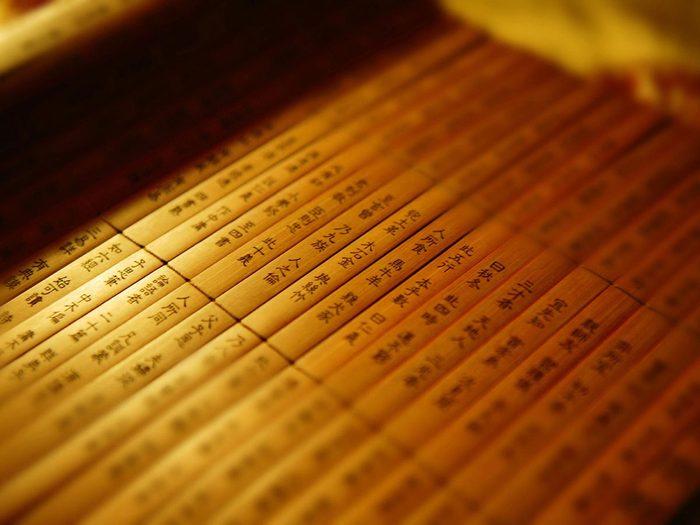 Sun Tzu fait partie des personnages historiques qui n'ont peut-être jamais existé.