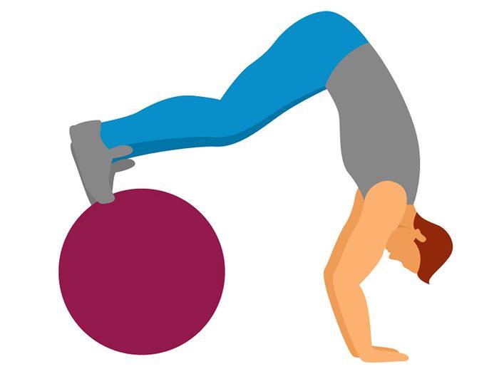 Problèmes de santé: des exercices pour réduire l'inconfort lié aux maux de dos.