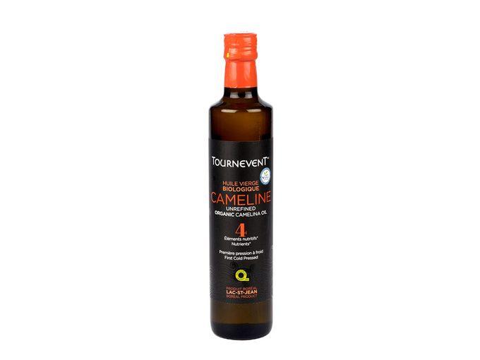 L'huile végétale biologique de cameline fait partie des produits québécois à découvrir.