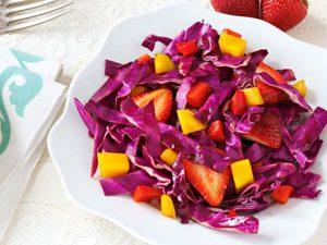 Salade «adorable»de chou rouge