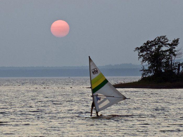 Souvenirs d'été à l'Anse-à-l'Orme.