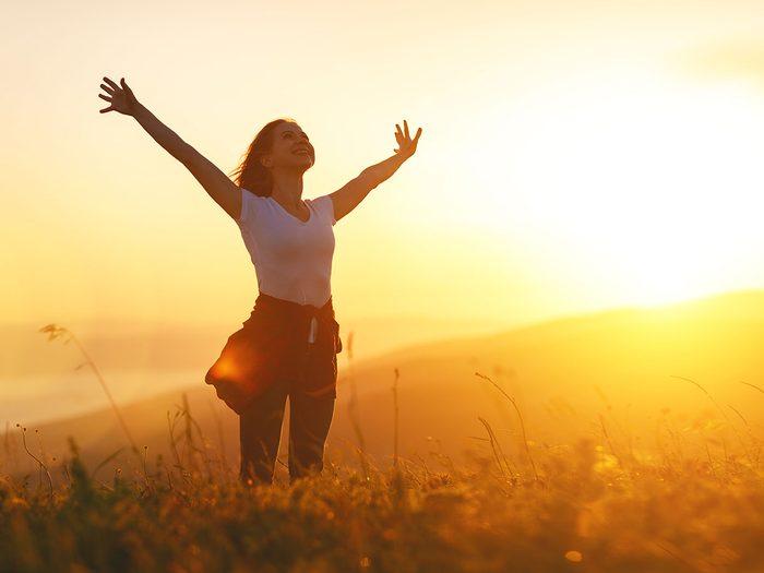 Prenez du soleil pour la santé de votre cœur.