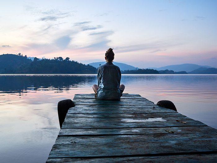 Calmez votre stress et votre anxiété pour la santé de votre cœur.