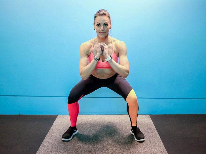 Aucun équipement n'est nécessaire pour faire ces exercices de musculation.