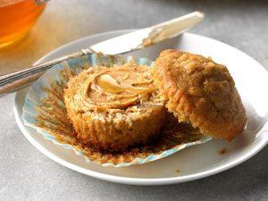 Muffins à l'avoine et à la cassonade