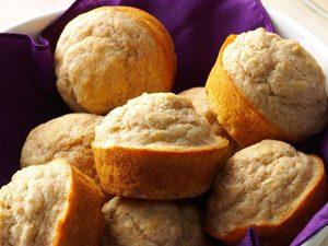 Muffins tendres au blé entier